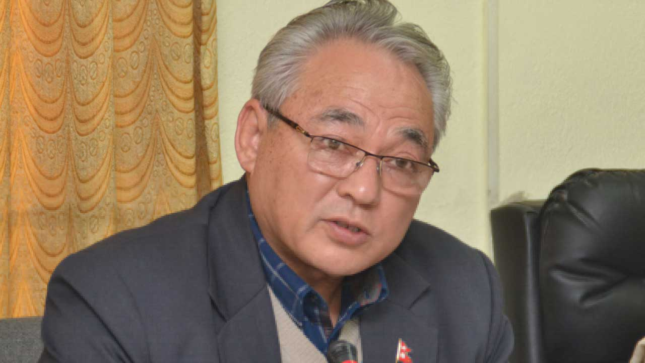 Country in test: Home Minster Thapa-The Times Of Nepal : The Times of Nepal  – TON